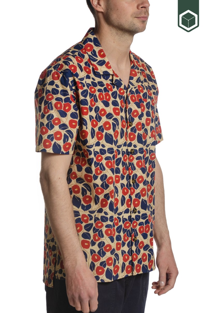 Libertine Libertine Cave S/S Red Flower