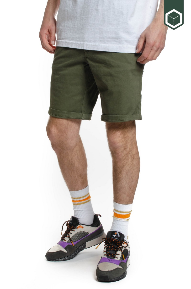 Reell Flex Grip Chino Short Olive
