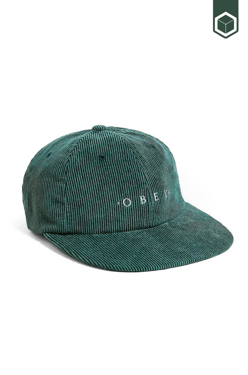 Obey Approach 6-Panel Dark Teal