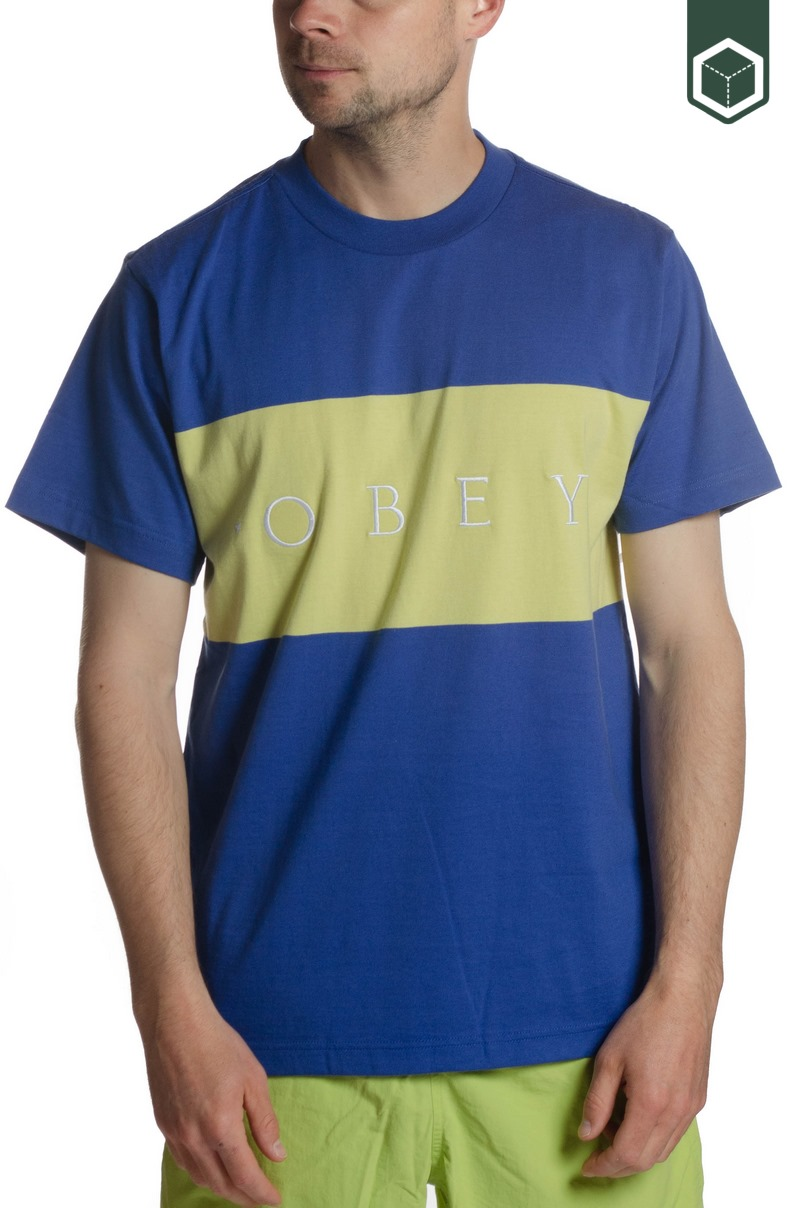 Obey Buddy Tee SS Blue Multi