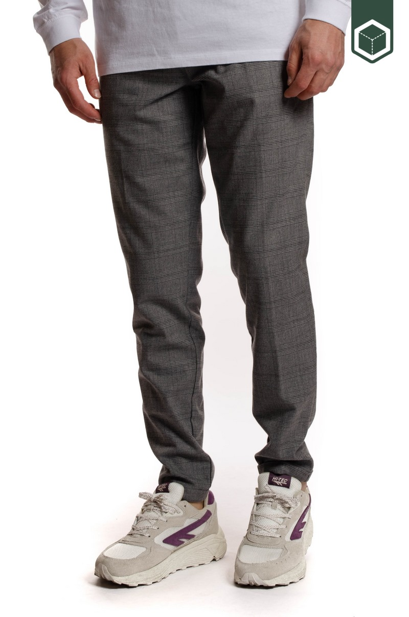 Les Deux Como Multi Check Suit Pants