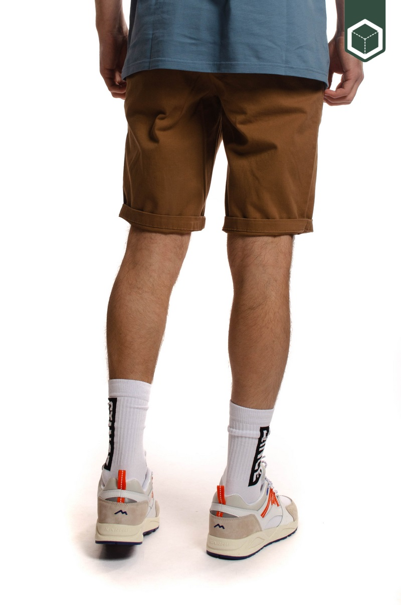 Reell Flex Grip Chino Short Ocre Brown