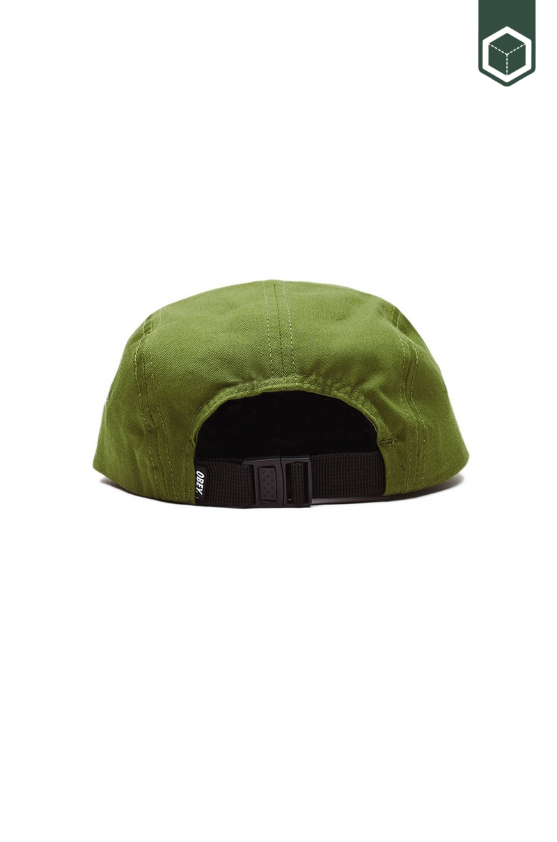 Obey Eyes 5 Panel Hat Army