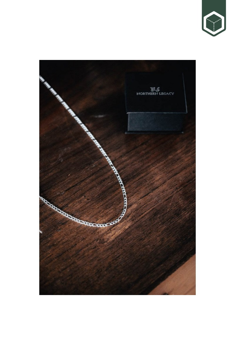 Northern Legacy Antique Chain Silver Tone
