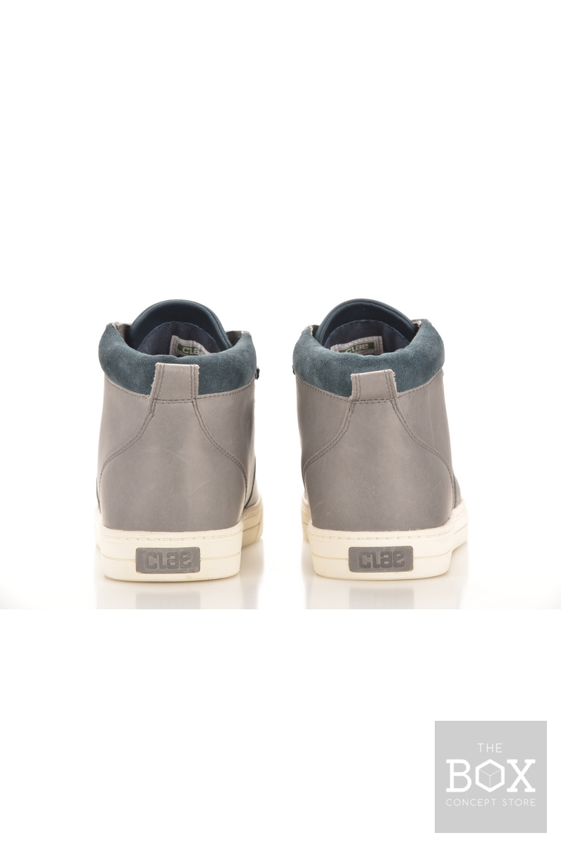 Clae Grant Charcoal Leather