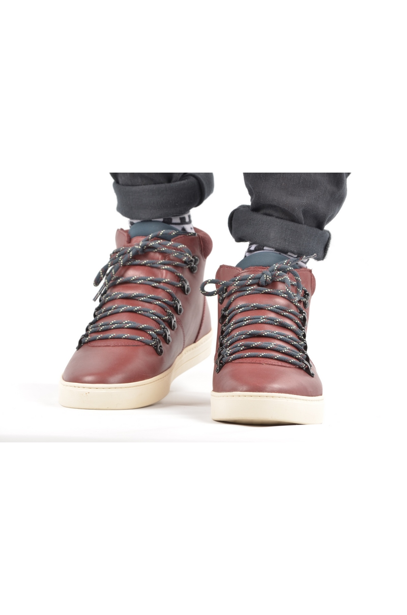 Clae Grant Oxblood Leather