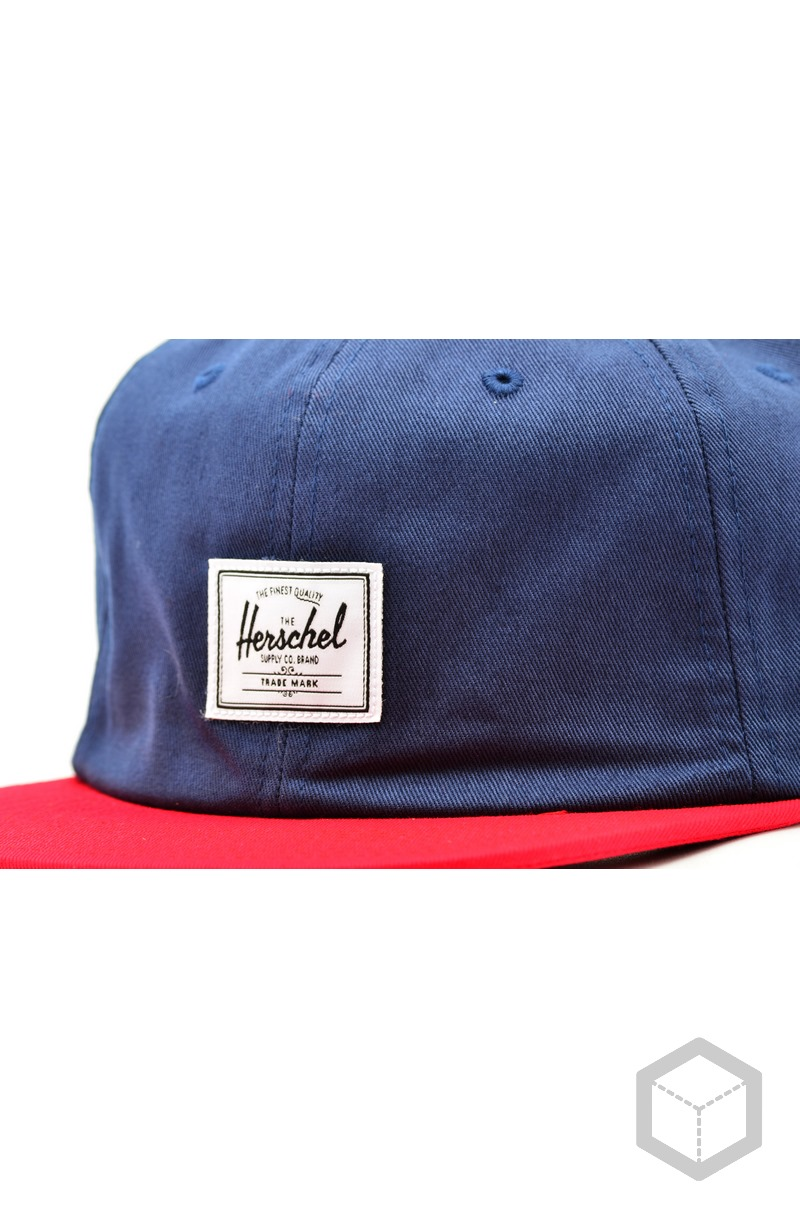 Herschel Albert Navy/Red