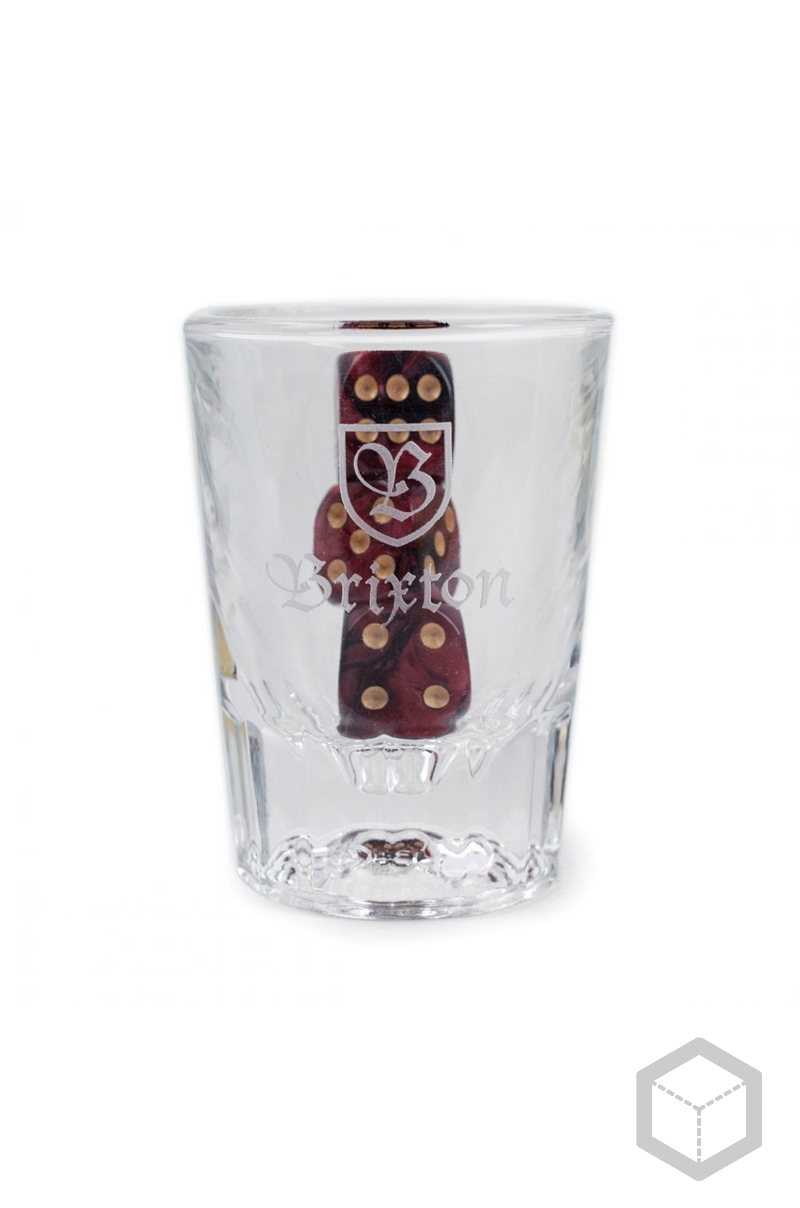 Brixton Good Times Shot Glass Dice Set