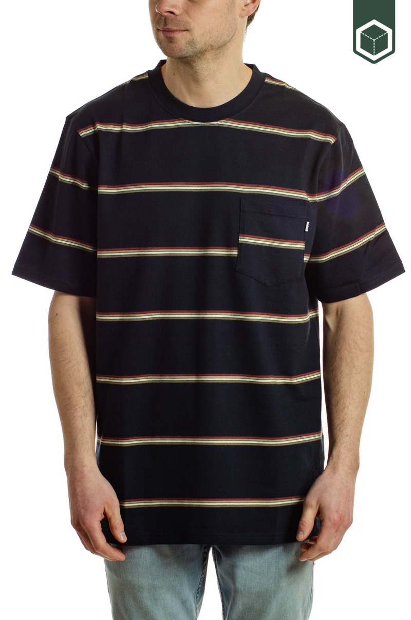 Wood Wood Bobby Stripe Navy Stripe