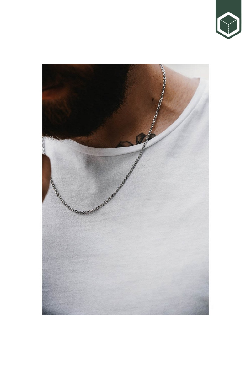 Northern Legacy Cable Necklace Silver