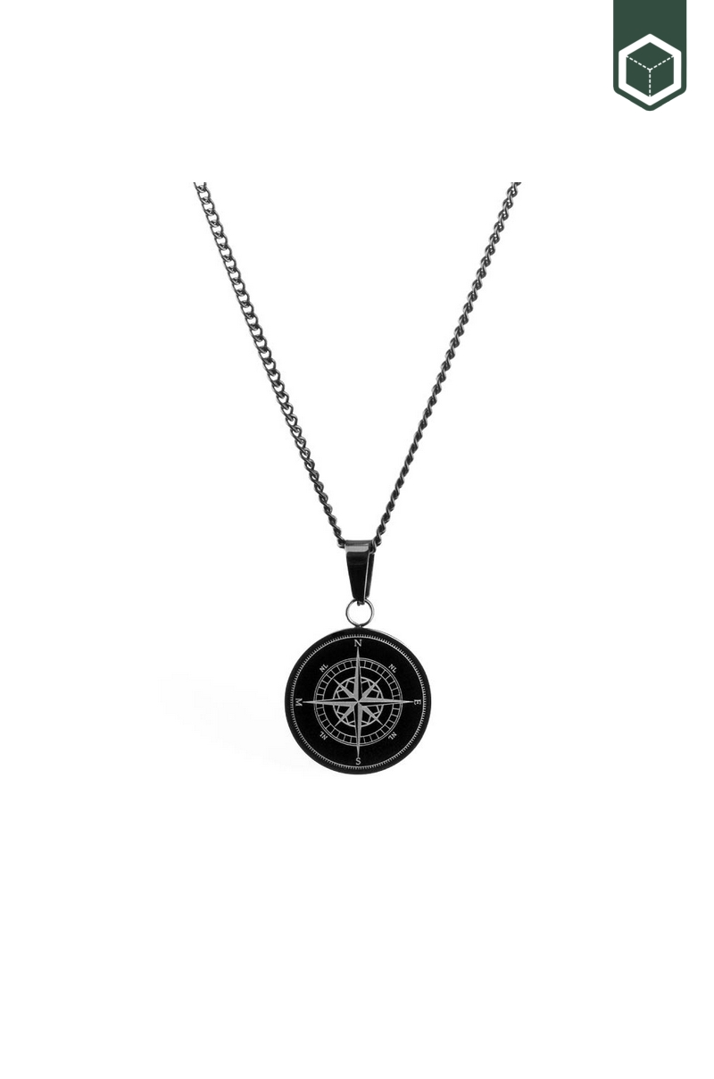Northern Legacy Compass Pendant