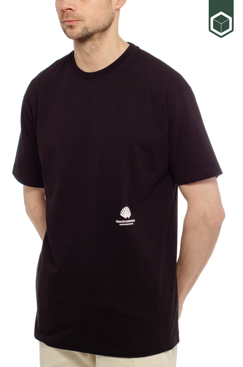 New Amsterdam Surf Association Cut Tee Black