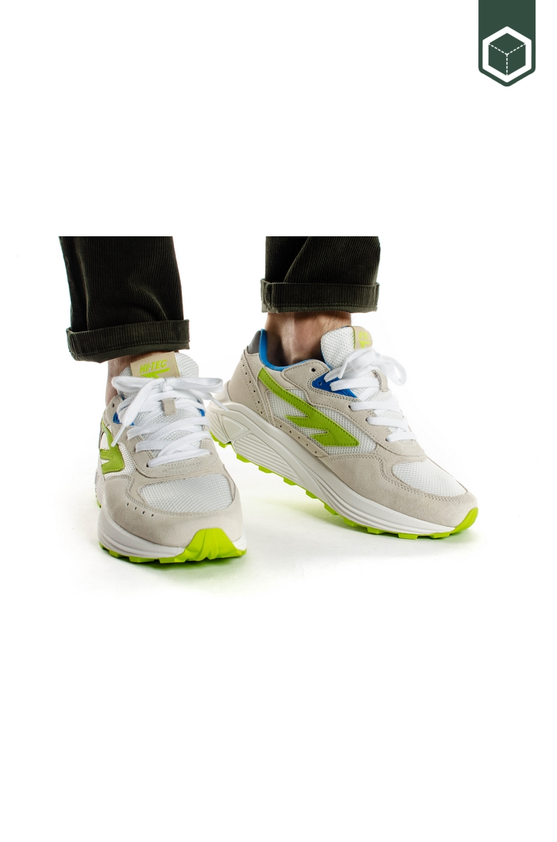 Hi-Tec HTS Shadow RGS Off White / Blue / Lime