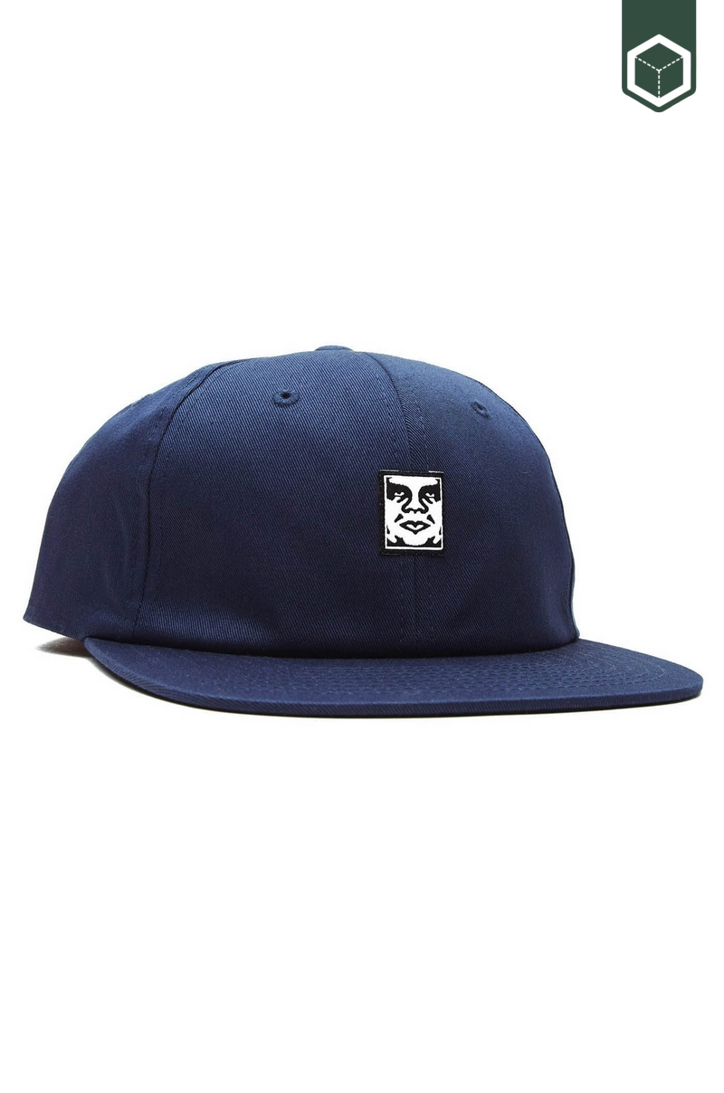Obey Icon Face  Navy
