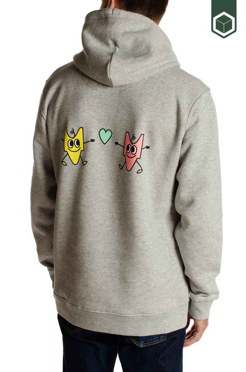 Estafette Studios Lovers Hoodie Grey