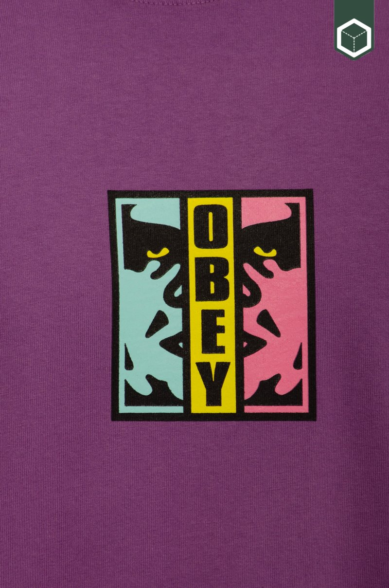 Obey Obey Divided Purple Nitro