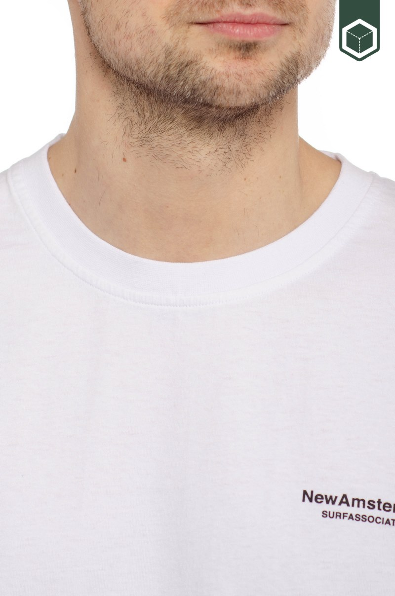 New Amsterdam Surf Association Pack Tee White