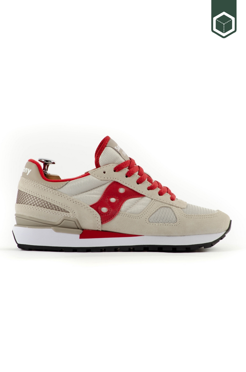 Saucony Shadow Original Tan/Red