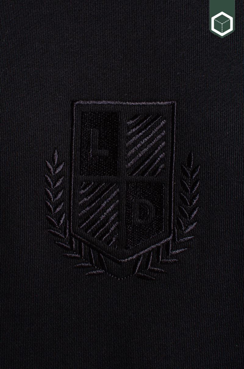 Les Deux Shield Sweatshirt Black