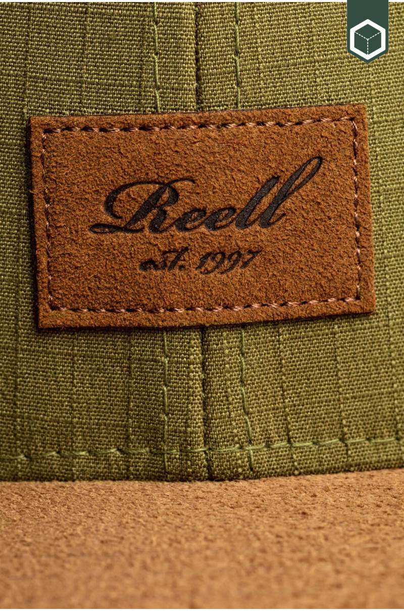 Reell Suede Cap Military Olive